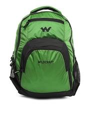 Wildcraft Unisex Green & Black Lih Backpack