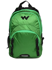 Wildcraft Unisex Green & Black Backpack
