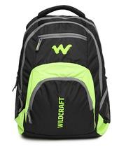 Wildcraft Unisex Black Hopper Backpack