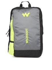Wildcraft Unisex Grey & Black Streak 2 Backpack
