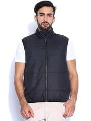 Lee Black Sleeveless Jacket