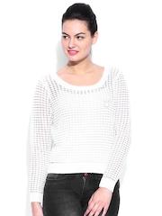 Kook N Keech Disney White Sweater