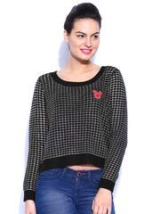 Kook N Keech Disney Black Sweater