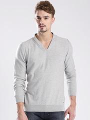 GAS Grey Melange Joele Sweater