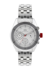 GIO COLLECTION Men Silver-Toned Dial Watch G1001-11