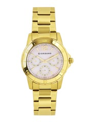 GIORDANO Women Pearly Pink Dial Watch GX2636-99