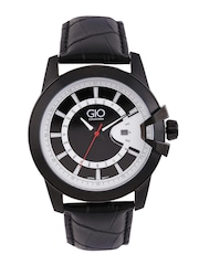 GIO COLLECTION Men Black & White Dial Watch G0066-03