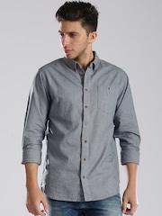 Tommy Hilfiger Blue Chambray Casual Shirt