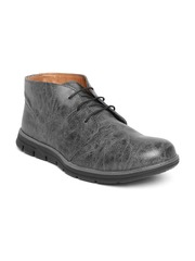 Arden by Knotty Derby Men Black Textured Boots