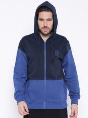 Reebok Classic Navy Hooded Sweatshirt