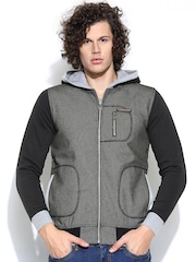 Cloak & Decker by Monte Carlo Grey Hooded Sweatshirt