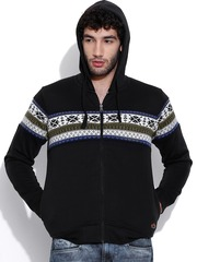 Cloak & Decker by Monte Carlo Black Hooded Sweatshirt