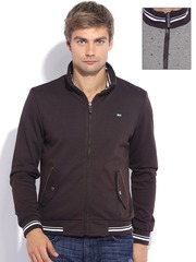 Arrow Sport Brown & Beige Reversible Jacket