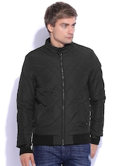 Arrow New York Black Quilted Jacket