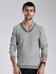 GAS Grey Slim Sweater