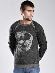 GAS Black & Grey Sweater