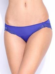 Enamor Glitzies Women Blue Lace Briefs DP05