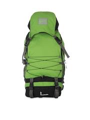 Impulse Unisex Green Rucksack