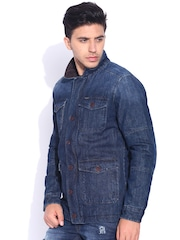 U.S. Polo Assn. Blue Washed Padded Denim Jacket