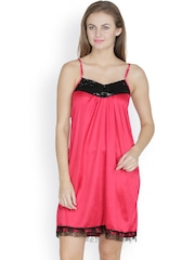 Klamotten Red Baby-Doll Nightdress X151