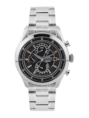 SEIKO Men Chronograph Charcoal Grey Dial Watch SPC167P1