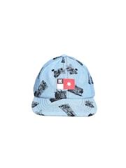 DC Men Blue Printed Cap