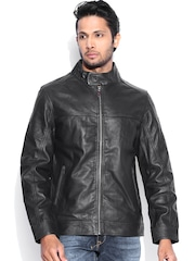 U.S. Polo Assn. Black Leather Jacket