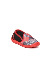 Spider-man by Marvel Boys Black Printed Casual Shoes