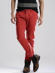Breakbounce Red Hayter Street Cool Chino Trousers