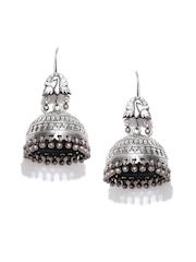 ahilya Sterling Silver Jhumka Earrings