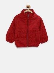 United Colors of Benetton Girls Maroon Jacket
