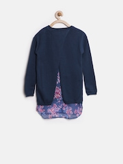 United Colors of Benetton Girls Navy Sweater
