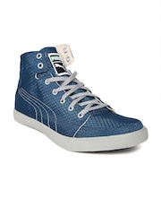 Puma Unisex Teal Blue Drongos DP Sneakers