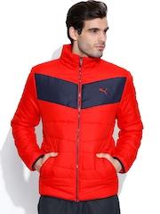 PUMA Red ESS Padded Jacket