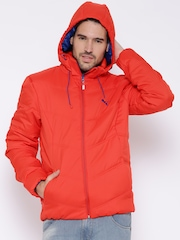 PUMA Red Down Padded Jacket