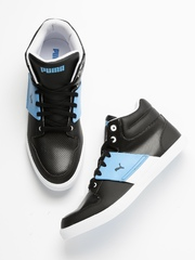 PUMA Unisex Black El Ace 2 Mid PN II DP Sneakers