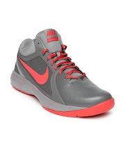 Nike Men Grey The Overplay VIII RUnning Shoes