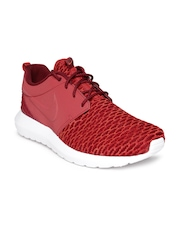 Nike Men Red Roshe NM Flyknit Casual Shoes