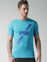Nike Blue AS Academy GPX SS Printed Football T-shirt