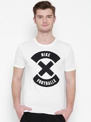 Nike White AS X Printed Football T-shirt