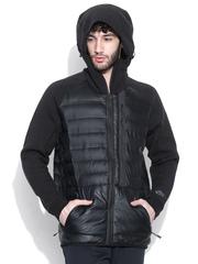 Nike Black AS Tech FLC Aeroloft Hooded Jacket