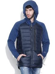 Nike Blue AS Tech Aeroloft Hooded Jacket