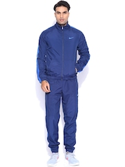 Nike Navy Slim Fit Tracksuit