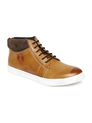 San Frissco Men Tan Brown Casual Shoes