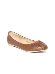 Allen Solly Women Dark Brown Ballerinas