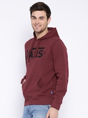 Vans Maroon Hooded Sweatshirt