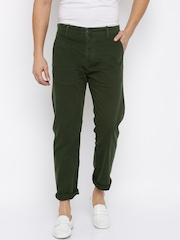 Levis Men Olive Chino Trousers