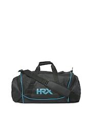 HRX by Hrithik Roshan Men Black Duffle Bag