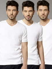 Marks & Spencer Pack of Three Innerwear Vests 4762V