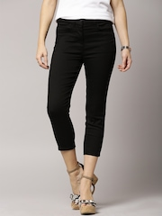 Marks & Spencer Black 5-Pocket Crop Jeans